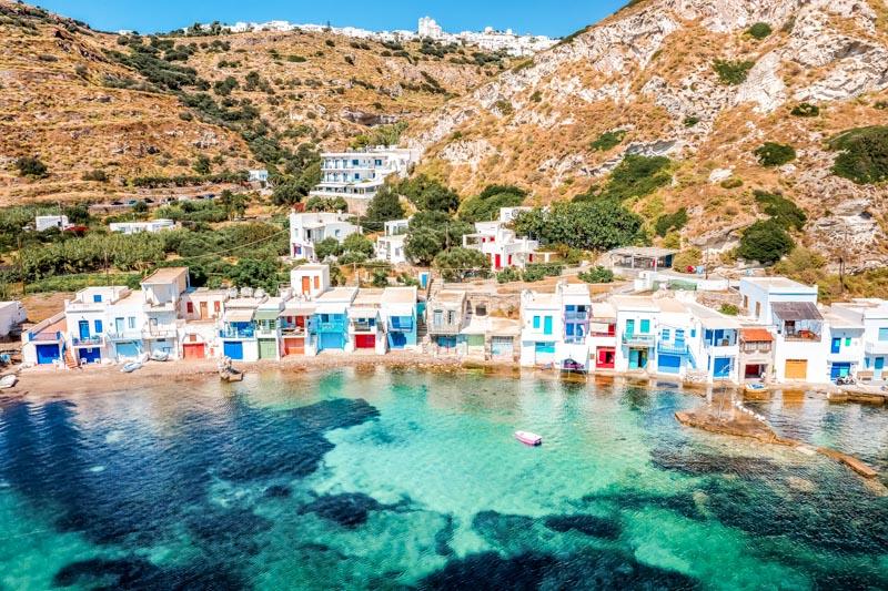 Schöne Reiseziele Europa Insel Milos Griechenland