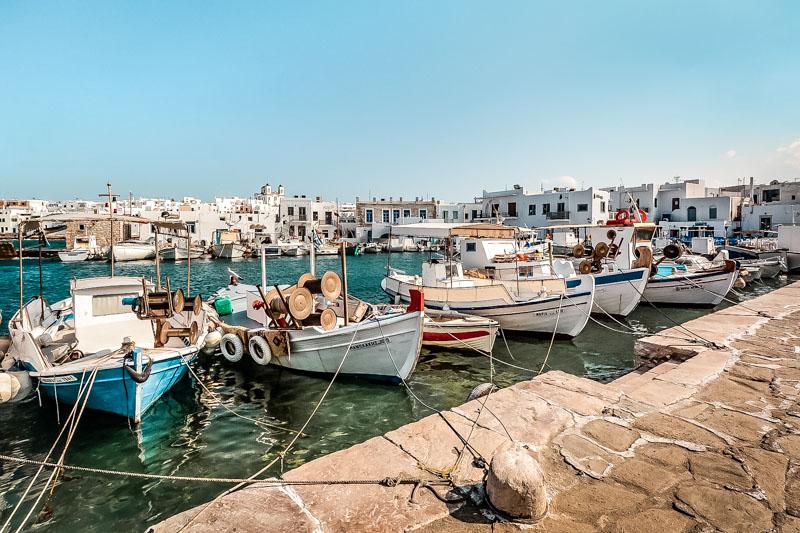 Schöne griechische Inseln Paros Kykladen