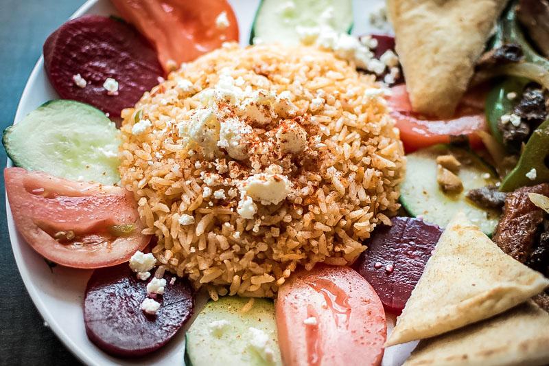 Tomatenreis Djuvec Reis Griechische Küche Balkan Speisen