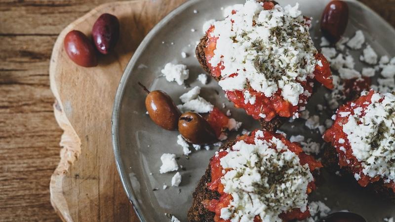 dakos rezept griechische speisen heycrete blog