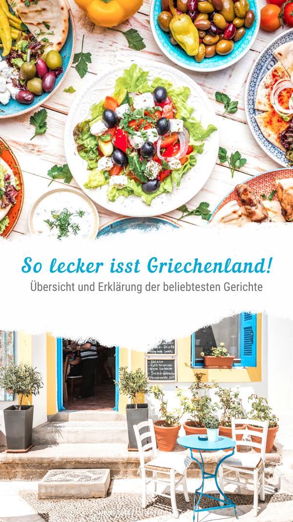 griechische küche speisen