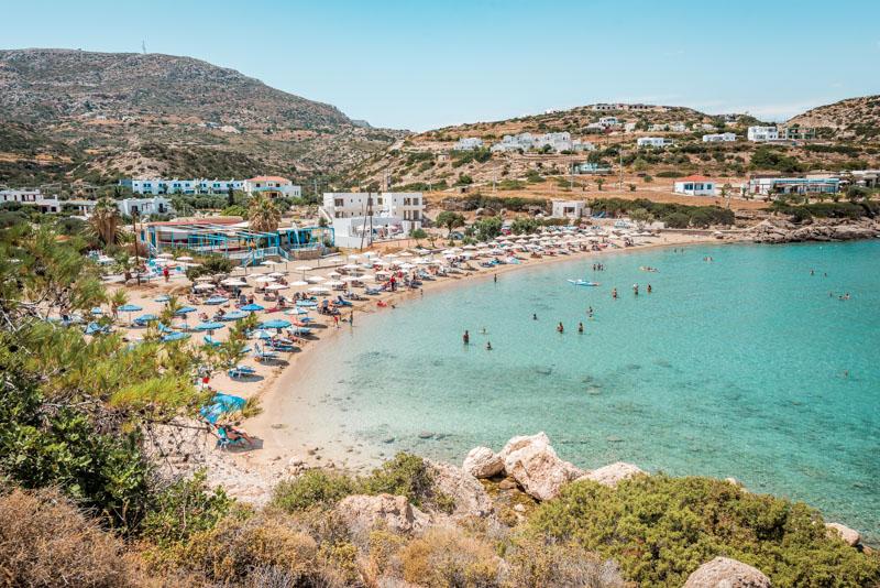 Ammopi Strand Lakki Karpathos Griechenland