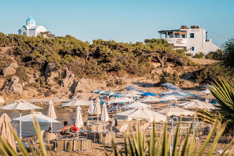 Amopi Strand Karpathos Skala Bar