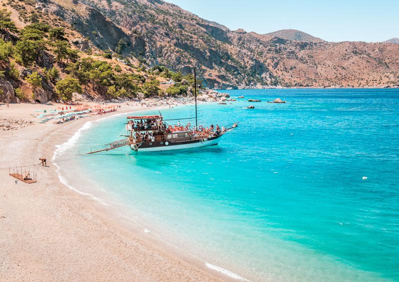 Apella Beach Karpathos Griechenland