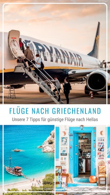 Flüge Griechenland Airlines Tipps Urlaub