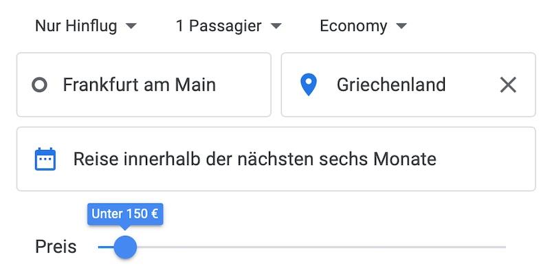 Google Flights Günstige Flüge 3