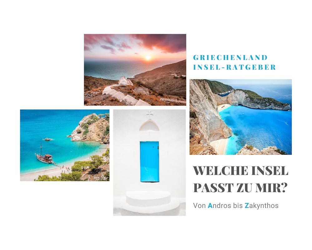 Griechenland Inseln Blog Urlaubsziele