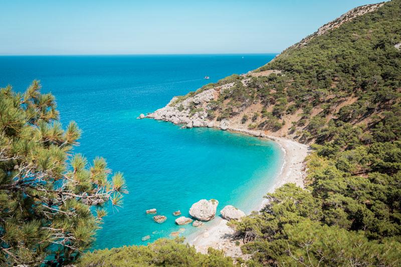 Griechenland Urlaub Karpathos Kato Lakko Strand