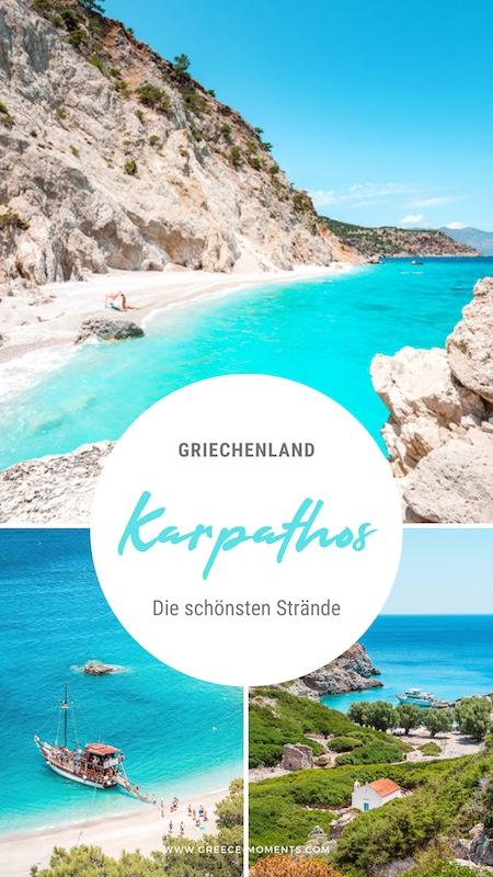 Karpathos Griechenland Strände
