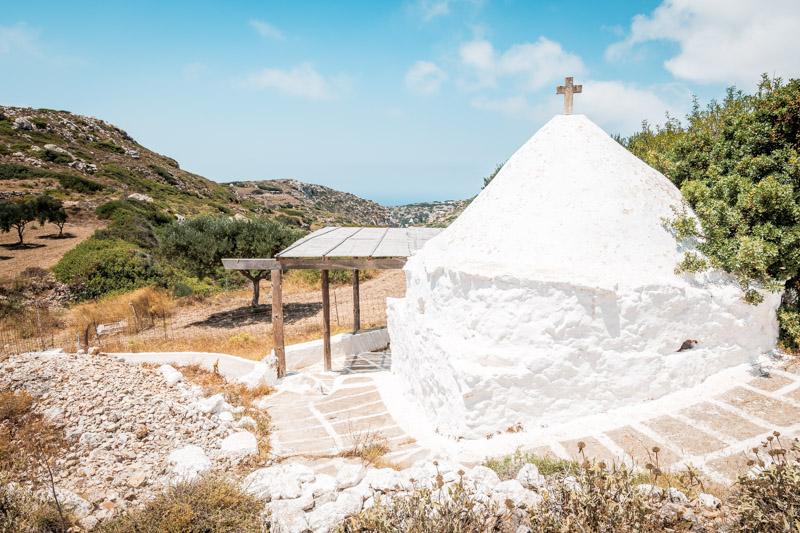 Karpathos Kirche Agias Mamas Menetes Skopi