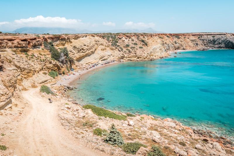 Karpathos Urlaub Agios Teodoros Beach