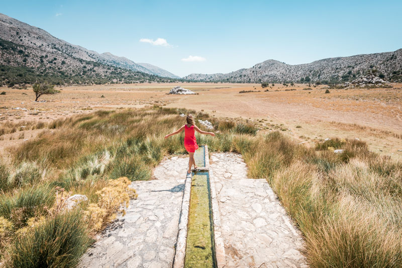Lasithi Hochebene Kreta Wandern