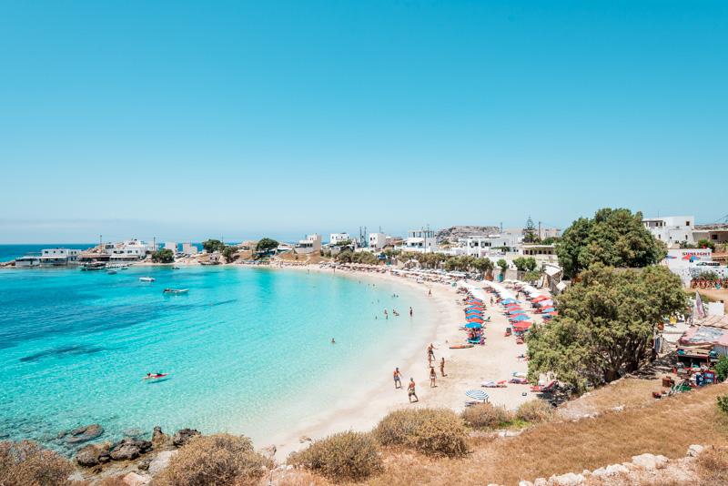 Lefkos Strand Schönste Griechenland