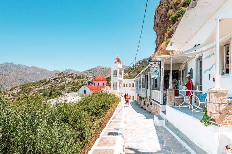 Mesochori Sehenswürdigkeiten Karpathos Restaurant Dramountana