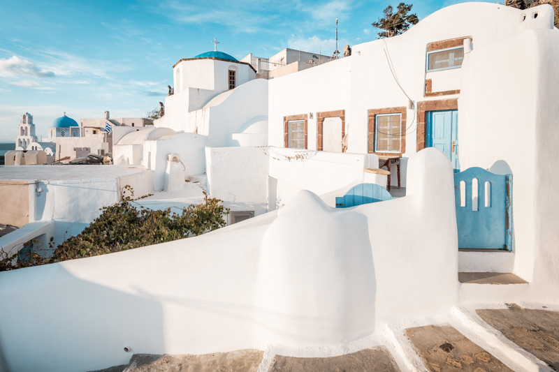 Santorini Urlaub Hotels Pyrgos Empfehlung