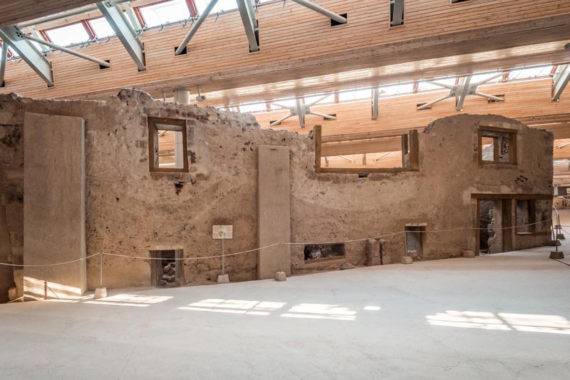 akrotiri santorini wohnhäuser antike