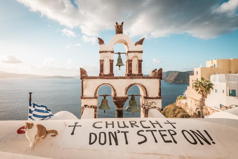 griechenland santorini massentourismus respekt