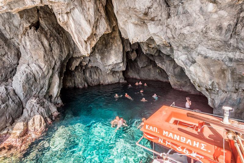 karpathos saria tour spiliani höhle