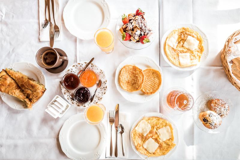 Argyro Guesthouse Makedonien Frühstück Griechenland Hotels