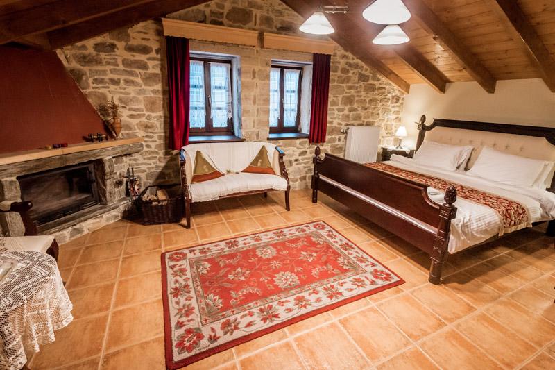 Griechenland Hotels Argyro Guesthouse Nymfaio Makedonien