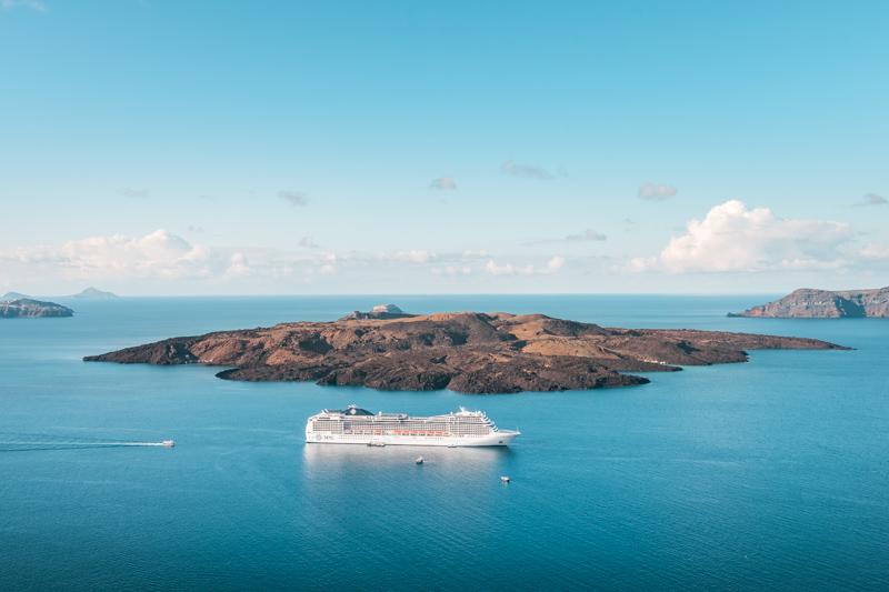 Griechenland Kreuzfahrt Empfehlungen Route Santorini