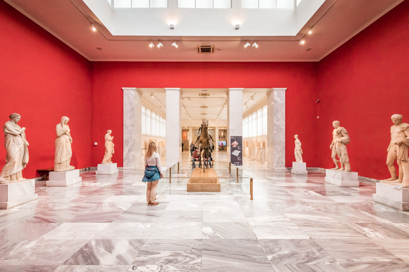 Griechenland Museum Tipps Athen Nationalmuseum