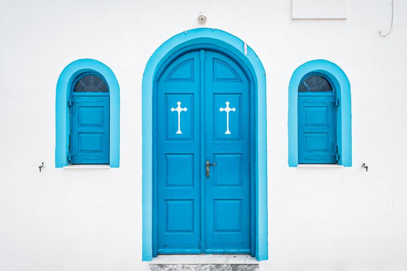 Griechenland Religion Christentum Orthodoxe Kirche Blau weiss