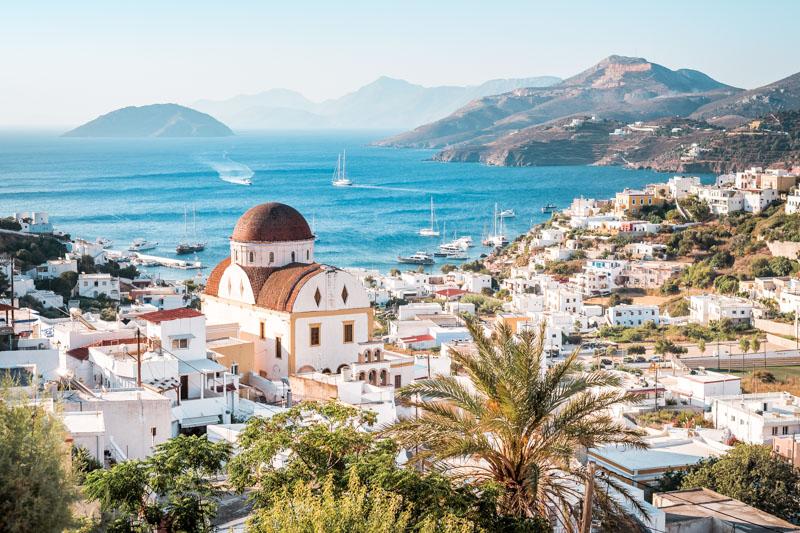 Griechenland Urlaubsorte schöne Hotels Leros Asterias