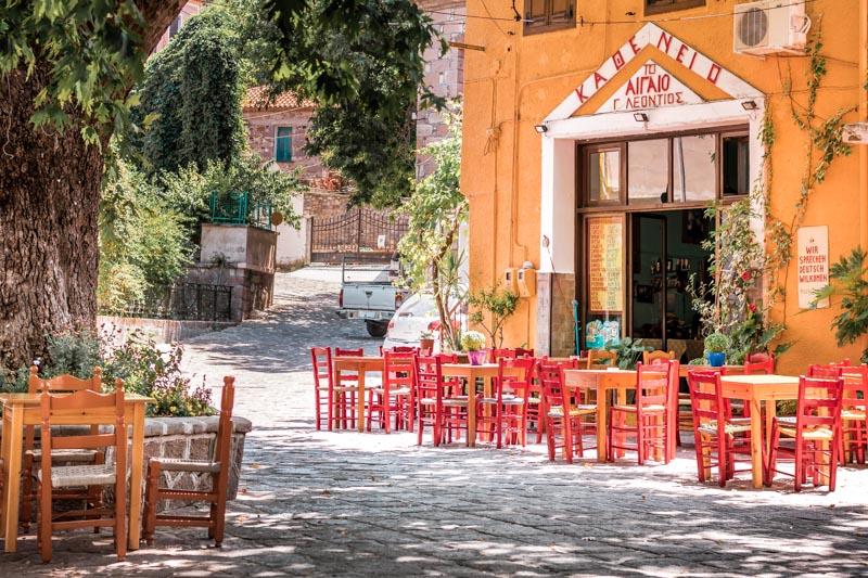Kafenion Griechenland Typisch Griechisches Kaffehaus