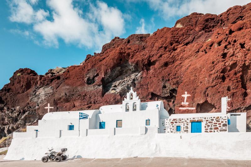 Kykladen Pauschalurlaub Santorini Tipps Mietwagen