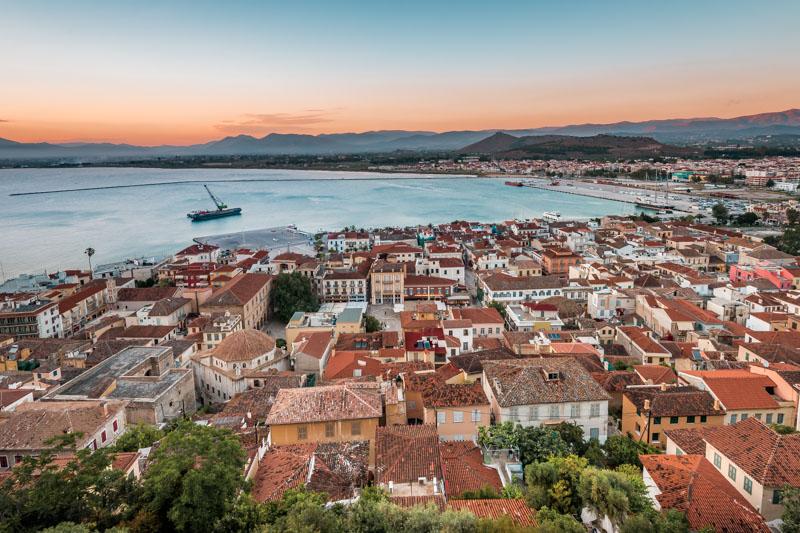 Nafplio Peloponnes Griechenland Urlaubsorte Reiseziele