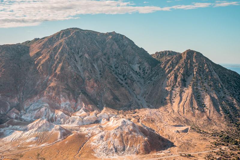 Nisyros Vulkan Insel Kos Erfahrung