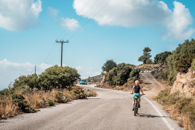 Radfahren Griechische Inseln Fahrrad Griechenland