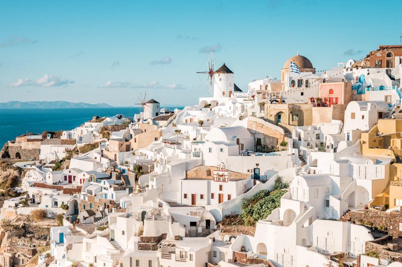 Schönste Insel Santorini Griechenland Steckbrief