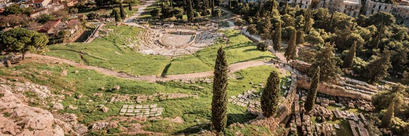 Athen Akropolis Dionysos Theater