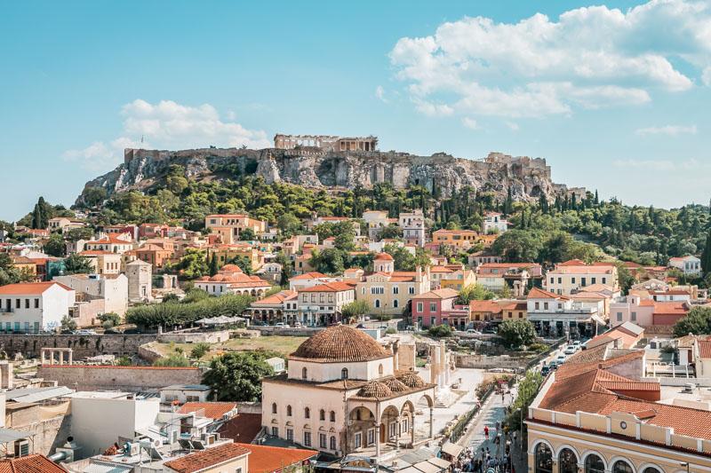 Athen Sehenswürdigkeiten Highlights Akropolis