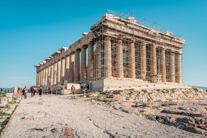 Athen Sehenswürdigkeiten Parthenon Tempel