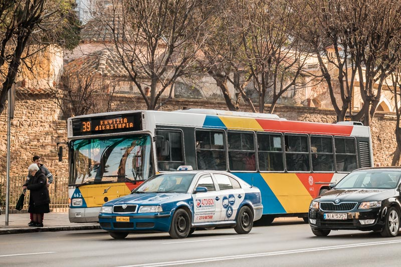 Bus Thessaloniki Taxi Griechenland Preise