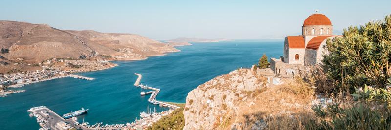 Dodekanes Insel Kalymnos Pothia Hafen