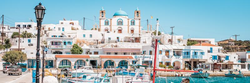 Dodekanes Insel Lipsi Fähre Tagesausflug