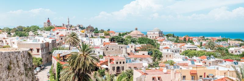 Dodekanes Insel Rhodos Stadt Sehenswürdigkeiten