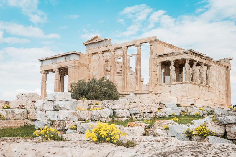 Erechtheion Akropolis Beste Reisezeit Urlaub Griechenland