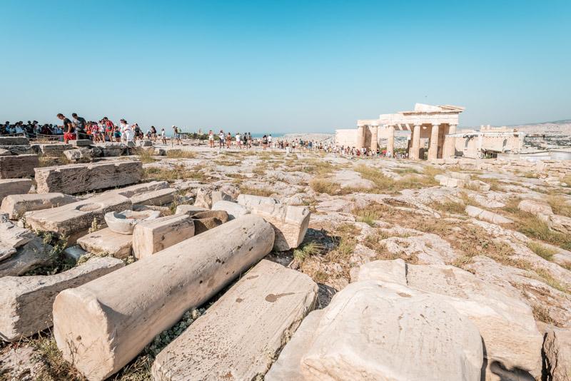 Geschichte Akropolis Steckbrief Athen
