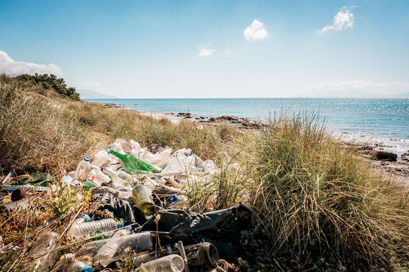 Müll Strände Griechenland Plastik Abfall Inseln