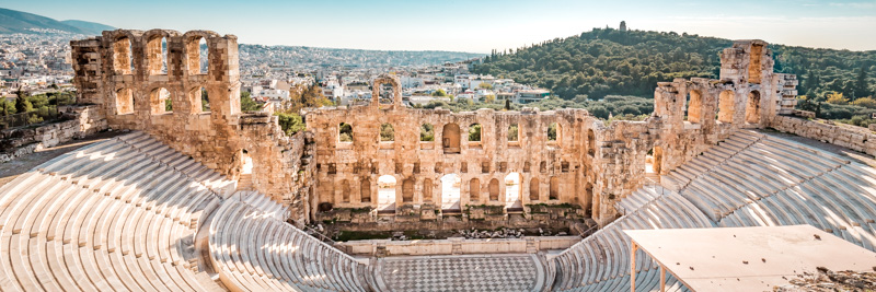 Odeon des Herodes Atticus Akropolis