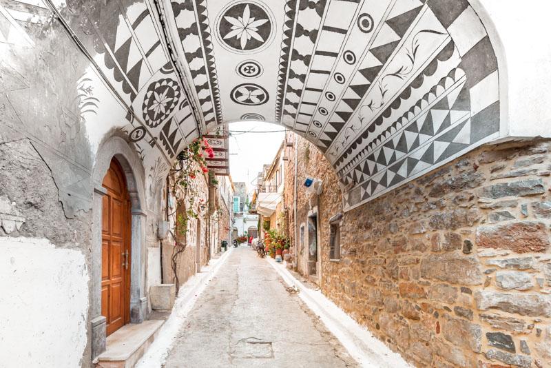 Olimpi Chios Mastix Griechenland Urlaub