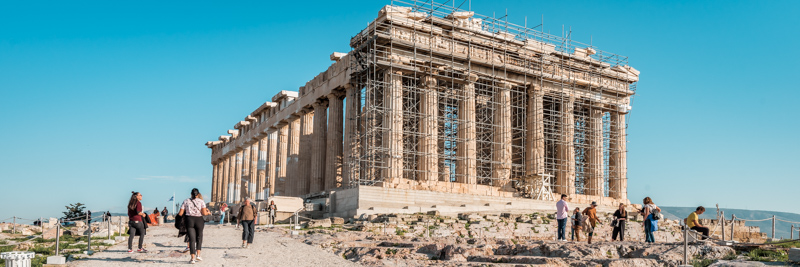 Parthenon Athen Tempel Akropolis Highlights