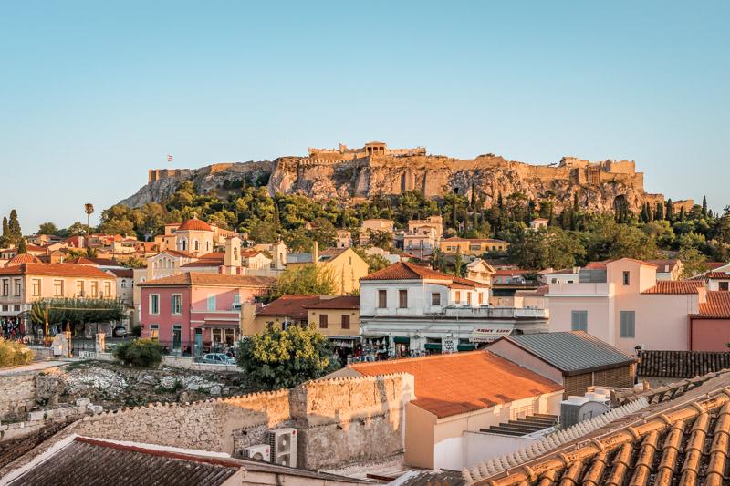 Rooftop Terrassen Athen Restaurants