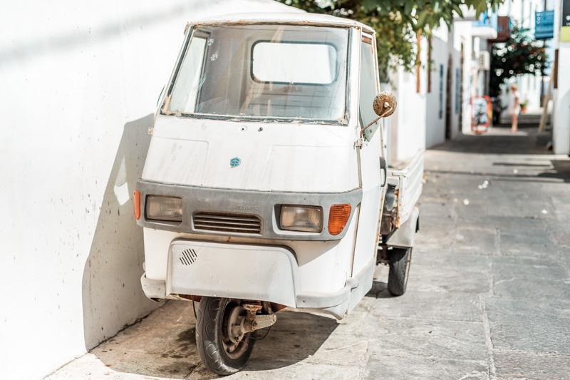 Verkehr Griechische Inseln Erfahrung Tipps APE