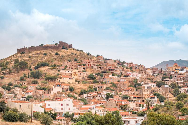 Volissos Chios Festung Markella Griechenland